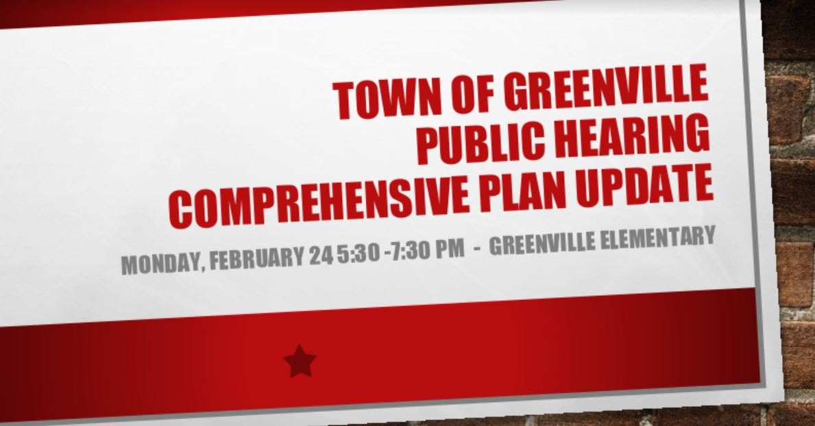Comprehensive Plan Public Hearing